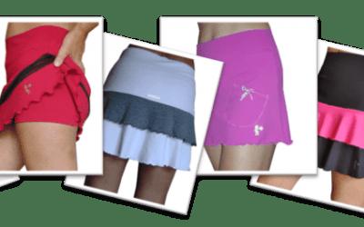 Faldas de padel