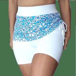 Shorts deportivo mujer en color blanco