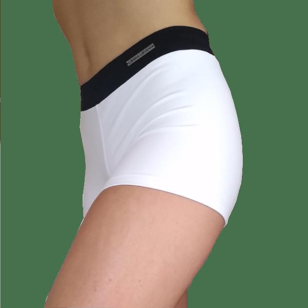 Short deportivo mujer blanco