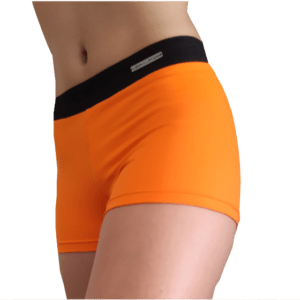 Malla mujer fitness naranja