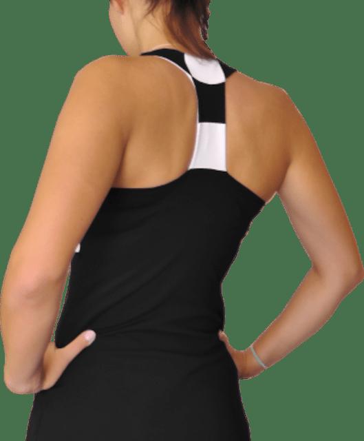 Vestido padel y tenis en negro