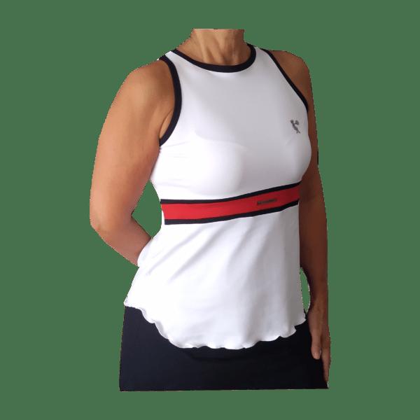 Camiseta padel tenis modelo Claudia