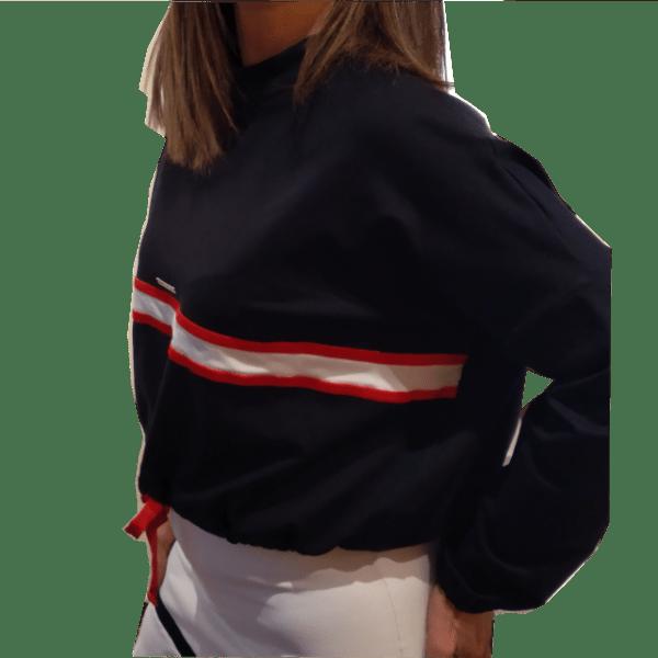 Sudadera deportiva mujer en negro